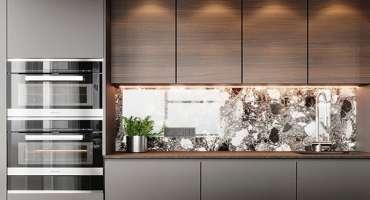 modern-kitchen-grey-brown-light-backsplash-mirror-effect