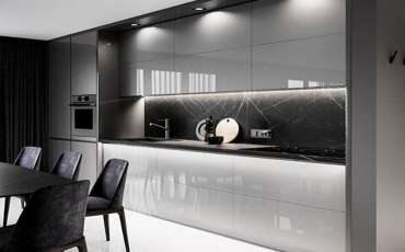 3D-modern-kitchen-design-grey-light-glossy-marble-splashback